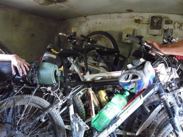 Велосипеды в ГАЗ 66