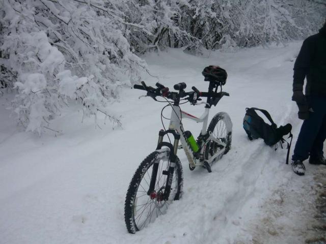 Giant Trance в снегу
