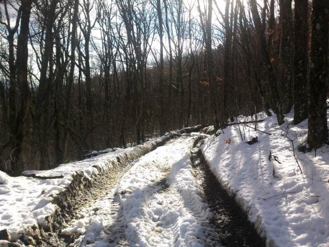 Снежная колея