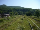 Поселок Тубы, вид на железку